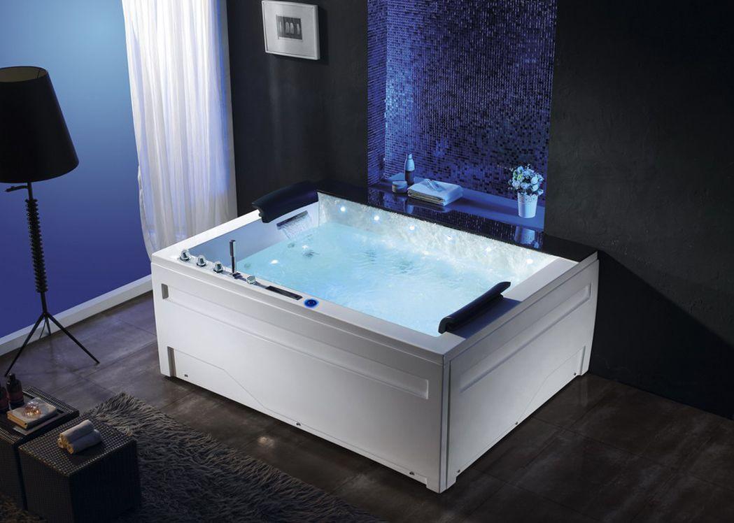 baignoire baln o 2 places rectangulaire baignoire baln o. Black Bedroom Furniture Sets. Home Design Ideas
