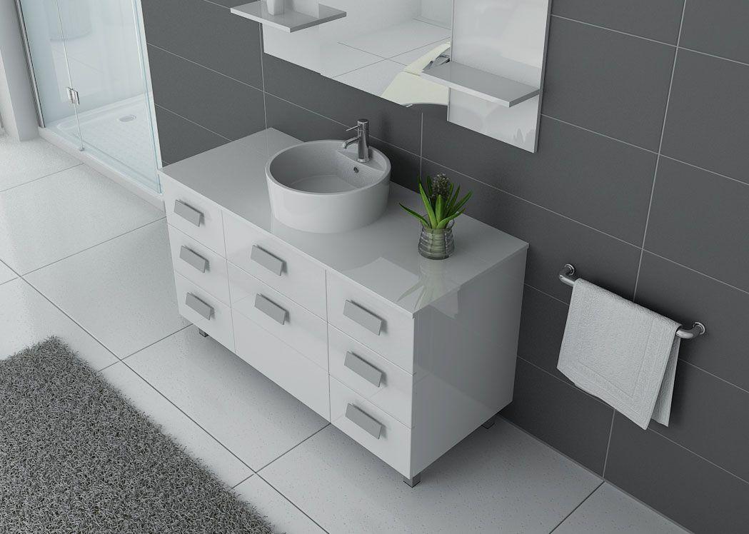 meuble de salle de bain 120 cm simple vasque meuble de de. Black Bedroom Furniture Sets. Home Design Ideas