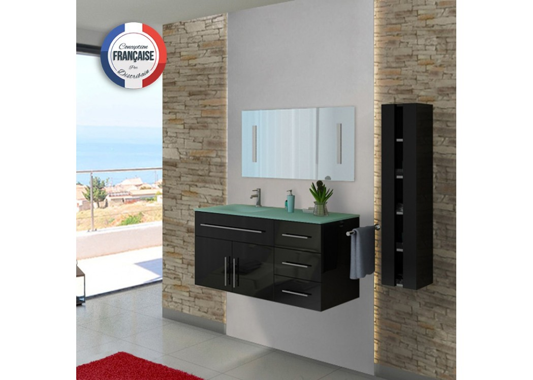 ensemble de salle de bain noir dis945n meuble de salle de. Black Bedroom Furniture Sets. Home Design Ideas