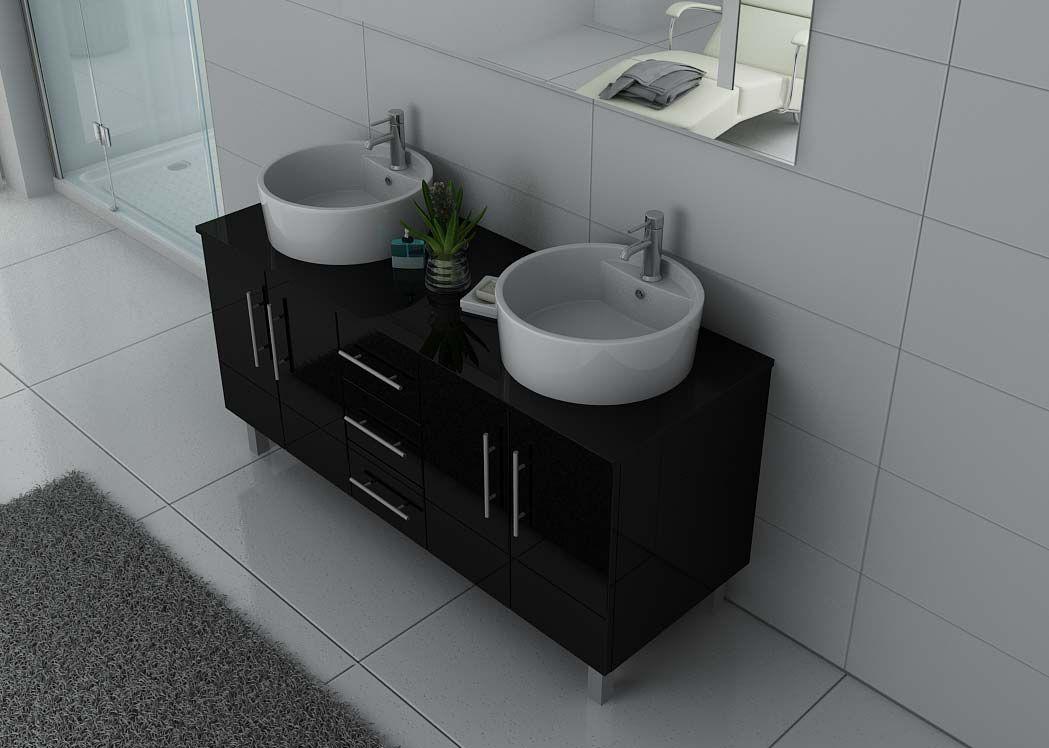 Meuble double vasque sur pieds dis989n meuble double Meuble double vasque sur pied