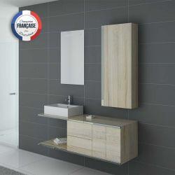 Meuble simple vasque pour salle de bain cosy DIS9450 Scandinave