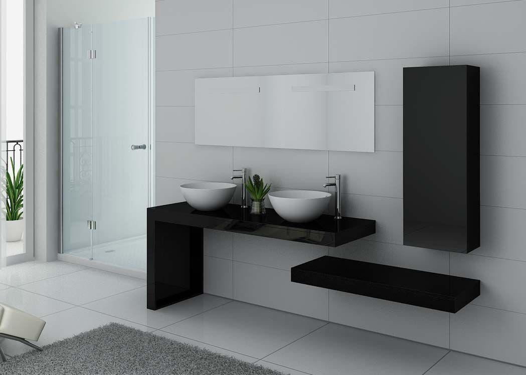meuble de salle de bain design double vasque meuble. Black Bedroom Furniture Sets. Home Design Ideas