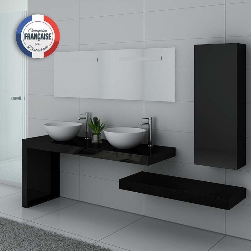 Meuble de salle de bain design double vasque, meuble double vasque ...