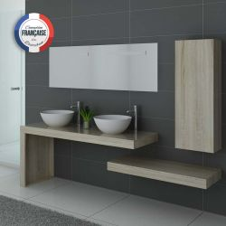 Meuble de salle de bain double vasque MONZA Duo SCandinave