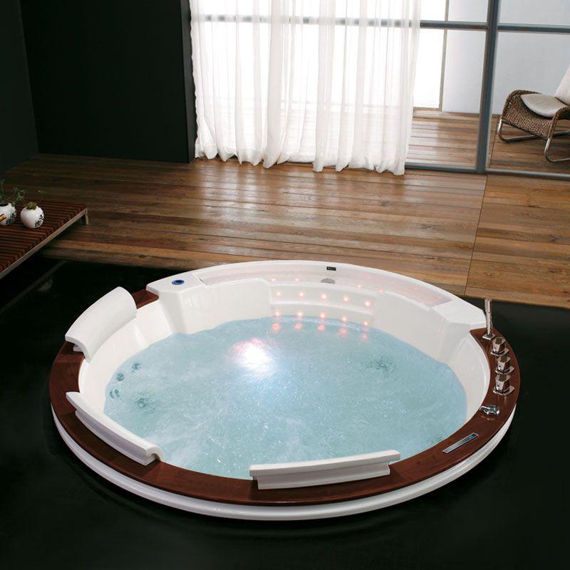 Baignoire balnéo 32 jets de massage encastrable Tengarra