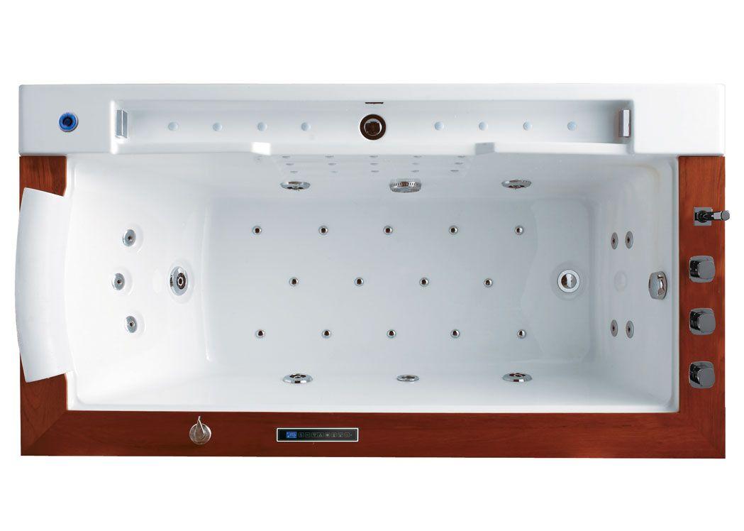 baignoire baln o encastrable 26 jets baignoire baln o encastrable rectangulaire sumba distribain. Black Bedroom Furniture Sets. Home Design Ideas