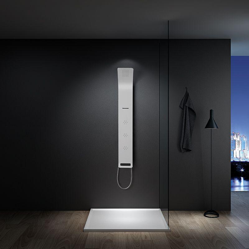 colonne hydromassante a051 colonne de douche avec jets d me de pluie et cascade. Black Bedroom Furniture Sets. Home Design Ideas