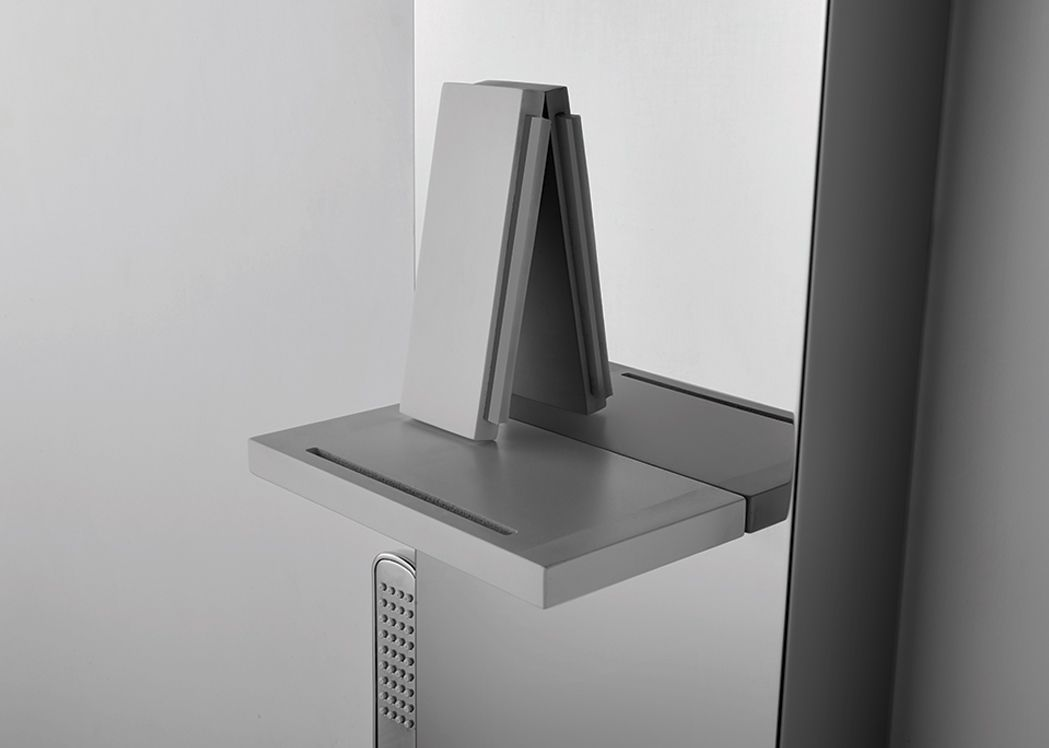 colonne de douche haut de gamme hydromassante s052 colonne de douche avec douchette distribain. Black Bedroom Furniture Sets. Home Design Ideas