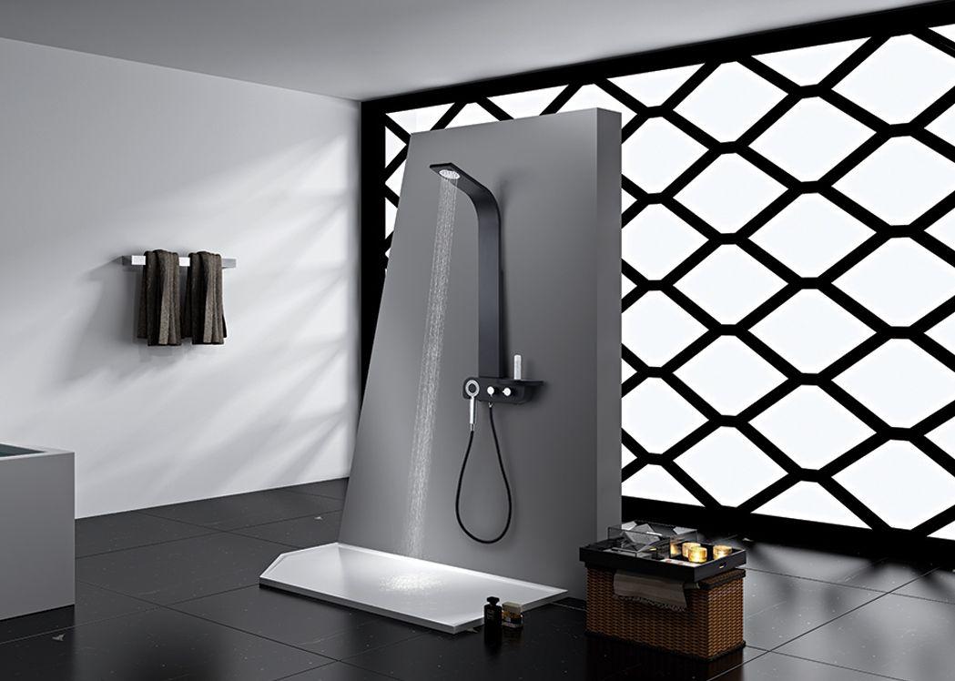 colonne de douche design hydromassante s300 3 colonne de. Black Bedroom Furniture Sets. Home Design Ideas