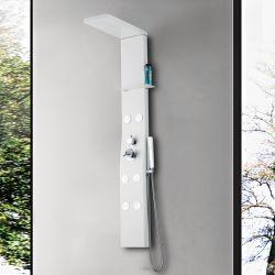 Colonne de douche hydromassante blanche A150